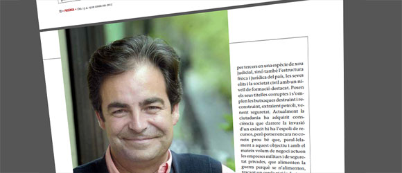 Jordi Palou en Revista Presència